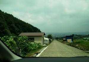 野田山墓地東側